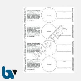 3/191-4 Verschlusssiegel Dokumentenfolie Dokumentensiegel Ortsgericht Hessen 136 StGB Siegelbruch Verstrickungsbruch Manipulation Sicher 148 48 mm Blatt 4 Stück | Borgard Verlag GmbH
