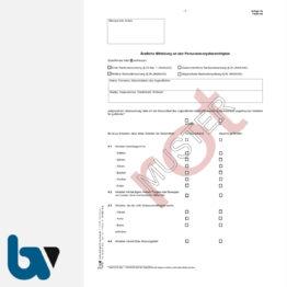 0/427-5.3 Ärztliche Mitteilung an Personensorgeberechtigte Nachuntersuchung Jugendarbeitsschutzgesetz Anlage 3a JArbSchG rot DIN A4 Seite 1 | Borgard Verlag GmbH