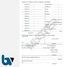 0/526-2 Fundanzeige Fundsache Finder Annahme Abholungsberechtigung Übergabebestätigung mit Fundanhänger 5-fach selbstdurchschreibend DIN A5 Seite 2 | Borgard Verlag GmbH