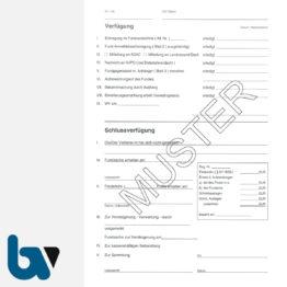 0/526-4 Fundanzeige Fundsache Erklärung Finder Fundanmeldebescheinigung mit Fundanhänger 4-fach selbstdurchschreibend DIN A5 Seite 2 | Borgard Verlag GmbH