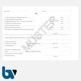 0/526-5 Fundanzeige Fundsache Fundanmeldebescheinigung Finder mit Fundanhänger 3-fach selbstdurchschreibend DIN A5 Seite 2 | Borgard Verlag GmbH