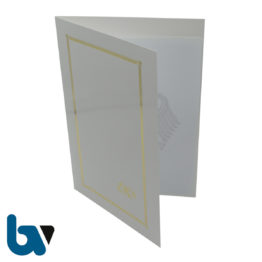 0/146-2 Stammbuch Mappe Urkunde Dokumente Goldprägung Hochglanz Karton Einstecktasche Einlege DIN A4 Außen 1 | Borgard Verlag GmbH