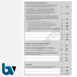 0/187-10 Vorsorgevollmacht schriftlich Muster Bundesministerium Justiz Betreuungsverfügung Patientenverfügung DIN A4 Seite 2 | Borgard Verlag GmbH