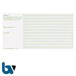 401 b Beiblatt Zulassungsbescheinigung Teil 1 Fahrzeugschein Pretex einfarbig grün 210 105 | Borgard Verlag GmbH