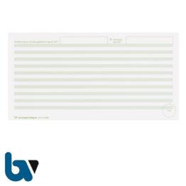 401 c Beiblatt Zulassungsbescheinigung Teil 1 Fahrzeugschein Pretex einfarbig grün 210 105 | Borgard Verlag GmbH