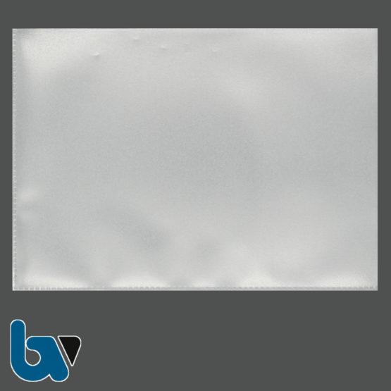 0/519-39.1 Schutzhülle Sichthülle Archivhülle Dokument Ausweis lange Seite offen DIN A5 | Borgard Verlag GmbH