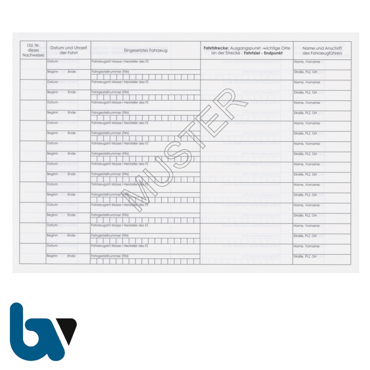 403.1 Nachweisheft Fahrten Verwendung rot Kennzeichen Paragraph 16 Ausgabe Rücknahme FZV 200 Eintragungen 20 Seiten geheftet DIN A5 Seite 1 | Borgard Verlag GmbH