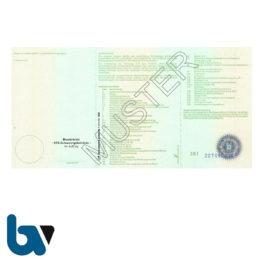 400 Zulassungsbescheinigung Teil 1 i-KFZ-Standard Anlage 5 Paragraph 11 Absatz 1 FZV Fahrzeug Zulassungsverordnung Neobond | Borgard Verlag GmbH