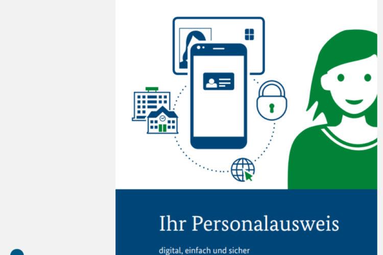 Amtliche Informationsbroschüre ihr Personalausweis digital einfach sicher DIN A5 | Borgard Verlag GmbH