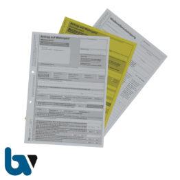 0/732-... Wohngeld Vordruck Formular Antrag Mietzuschuss Lastenzuschuss Bundesland Verdienst Miet Bescheinigung Erklärung | Borgard Verlag GmbH