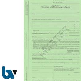 4/815-3 Pfändung Einziehung Verfügung Kontopfändung Niedersachsen Vollstreckung ZPO NVwVG 4-fach selbstdurchschreibend DIN A4 Vorderseite | Borgard Verlag GmbH
